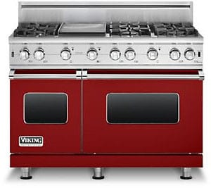 Viking Professional Custom Series VGCC5486GAR - Apple Red
