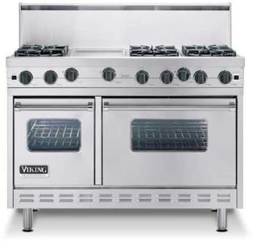 Viking Professional Series VGIC4856QSS - Featured View with Optional Backguard
