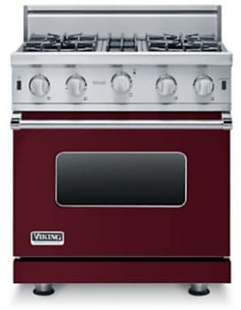 Viking Professional 5 Series VGIC53616BBU - 36-inch Burgundy (shown is 30-inch model)