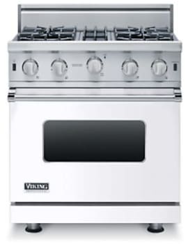 Viking Professional 5 Series VGIC53616BWH - White (30 in. model is shown here)