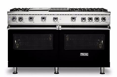 Viking Professional 5 Series VGR5606GQBK - Black Front View