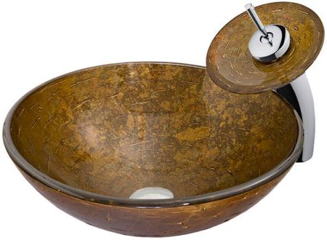 Vigo Industries Vessel Sink Collection VGT018CHRND - Featured View