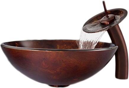 Vigo Industries Vessel Sink Collection VGT033RBRND - Feature View