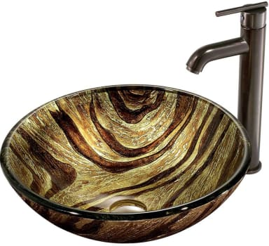 Vigo Industries Vessel Sink Collection VGT167 - Bathroom View