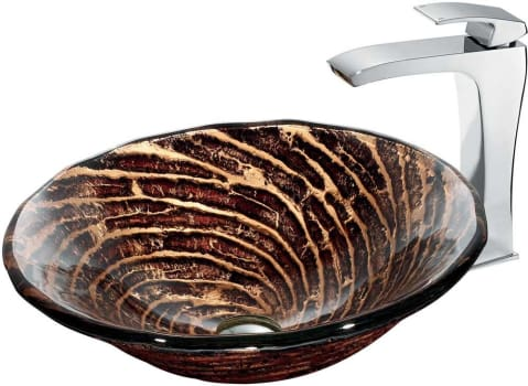 Vigo Industries Vessel Sink Collection VGT184 - Bathroom View