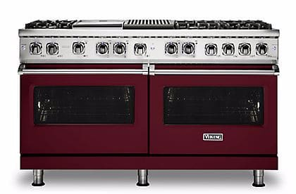 Viking Professional 5 Series VDR5606GQBULP - Burgundy Front View
