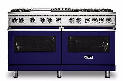 Viking Professional 5 Series VDR5606GQCB - Cobalt Blue Front View