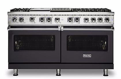 Viking Professional 5 Series VDR5606GQGG - Graphite Gray Front View