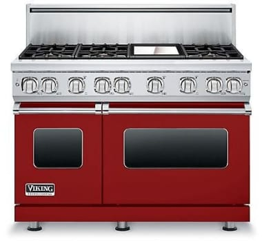 Viking Professional 7 Series VGR7486GARLP - Apple Red