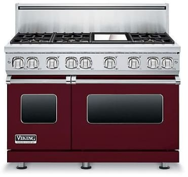 Viking Professional 7 Series VGR7486GBU - Burgundy