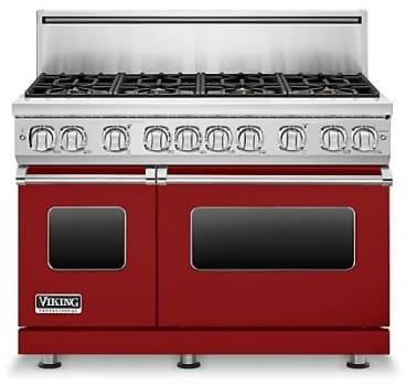 Viking Professional 7 Series VGR7488BARLP - Apple Red