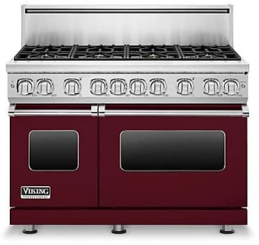 Viking Professional 7 Series VGR7488BBULP - Burgundy