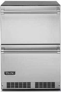 Viking Professional Series VDUI5240DSS - Undercounter Refrigerator Drawers from Viking