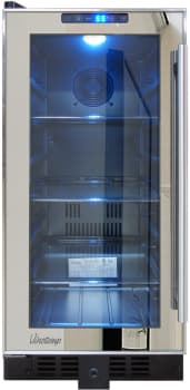 Vinotemp Mirrored Series VTBC32TSSML - Front View