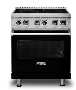 Viking Professional 5 Series VIR5304BBK - Black Front View
