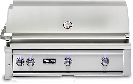 Viking Professional 5 Series VQGI5420NSS - Front View