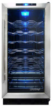 Vinotemp VTTC3210 - Black Cabinet with Stainless Steel Door