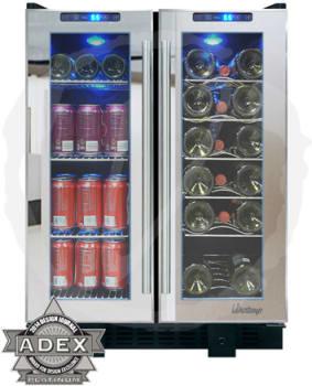 Vinotemp VT36TSSM - Vinotemp Wine and Beverage Cooler