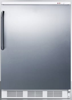 Summit Med Series VT65MBISSTB - Stainless Steel with Towel Bar Handle