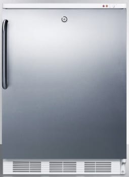 Summit Med Series VT65MLBISSTB - Stainless Steel, Lock with Towel Bar Handle