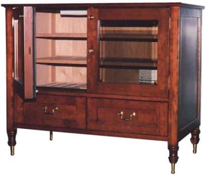Vinotemp VT-ANTIQUECAB - Antique Cigar Cabinet