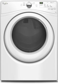 "Whirlpool WGD7590FW - 27"" 7.4 cu. ft. Gas Dryer with Wrinkle Shield Plus"