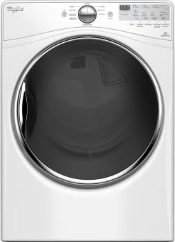 "Whirlpool WED90HEFW - 27"" 7.4 cu. ft. Electric Dryer with Wrinkle Shield Plus with Steam"