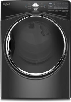"Whirlpool WED92HEF - Black Diamond 27"" 7.4 cu. ft. Electric Dryer with Advanced Moisture Sensing"