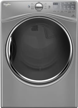 "Whirlpool WGD92HEFC - Chrome Shadow 27"" 7.4 cu. ft. Gas Dryer with Advanced Moisture Sensing"