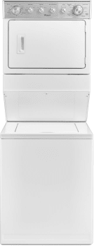 "Whirlpool WET4027EW - 27"" Electric Laundry Center with 2.5 Cu. Ft. Washer and 5.9 Cu. Ft. Dryer"
