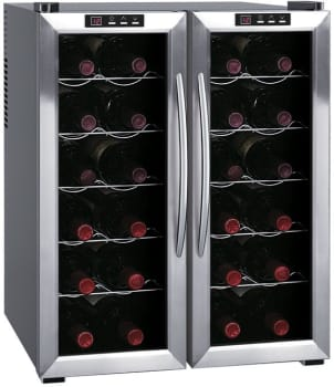 "Sunpentown WC2461H - 20"" Dual Zone Wine Cooler"