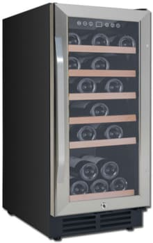"Avanti WC3015S3S - 15"" Built-In Deluxe Wine Cooler"