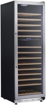 "Avanti WCF154S3SD - 24"" Dual Zone Wine Chiller with 154 Bottle Capacity"