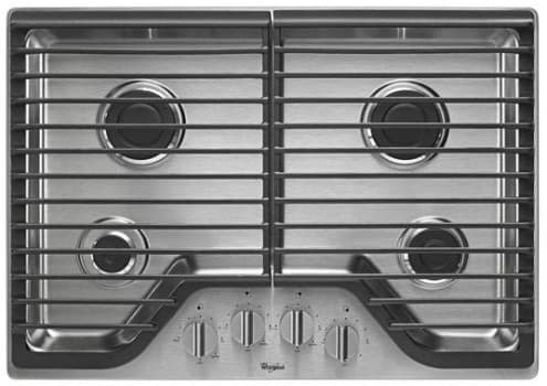 Whirlpool WCG51US0DS - Stainless Steel Cooktop