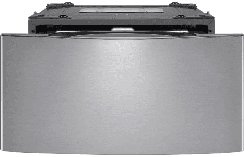 LG WD100CV - Sidekick Pedestal Washer in Graphite Steel