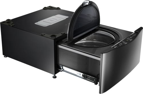 LG WD100CK - Black Stainless Steel