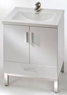 Empire Industries Daytona Collection D4VE2421WGS - White Gloss
