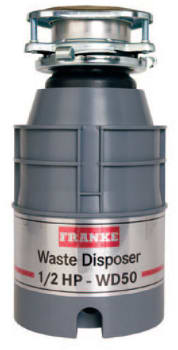 Franke WD50 - 1/2 HP Continuous Waste Disposer