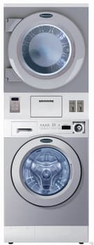 """Crossover WDSGXM - 27"""" Stacked Front-Load Laundry Center with Coin Box"""