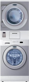 Crossover WDSGNM - 27 Inch Stacked Laundry Center, Non-Meted