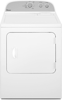 """Whirlpool WED4815EW - 29"""" Electric Dryer with 7.0 Cu. Ft. Capacity"""