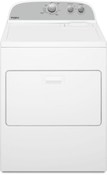 Whirlpool WED4950HW - Front View