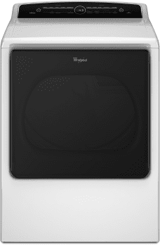 Whirlpool Cabrio WED8000DW - Front View