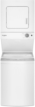 Whirlpool WET4124HW - Front View