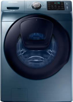 "Samsung WF45K6200A - 27"" Front Load Washer in Azure with AddWash Door"