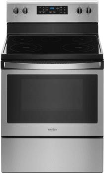 Whirlpool WFE505W0HZ - Fingerprint Resistant Stainless Steel Front