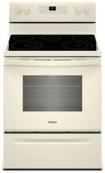 Whirlpool WFE525S0HT - Biscuit-on-Biscuit Front View