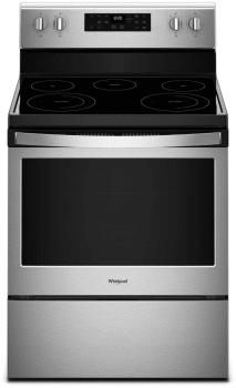 Whirlpool WFE525S0HZ - Fingerprint Resistant Stainless Steel Front