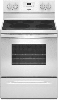 Whirlpool WFE530C0EW - White Front View