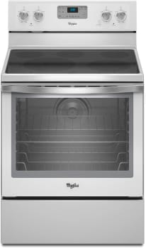 Whirlpool WFE540H0AH - White with Silver Handle